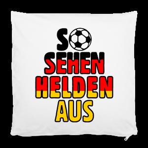 Fußball Deutschland Helden Fan Kissenbezug - Kissenbezug 40 x 40 cm