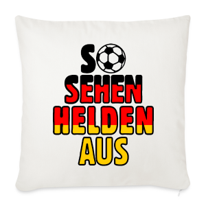 Fußball Deutschland Helden Fan Kissenbezug - Sofakissenbezug 44 x 44 cm
