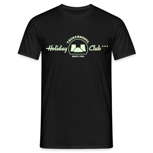 Tschernobyl Holiday Club (LEUCHTET im Dunkeln) - Männer T-Shirt