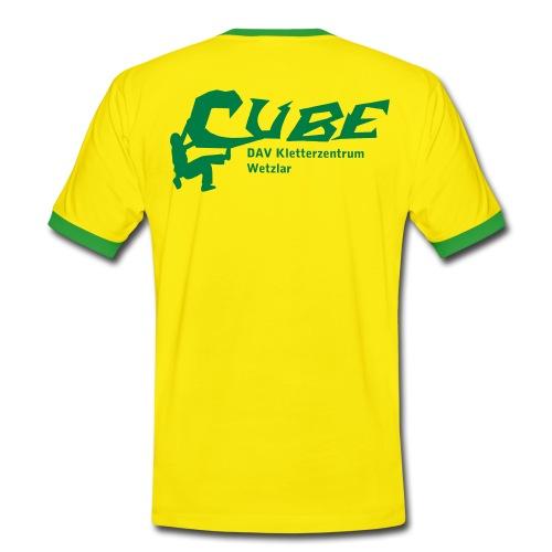 cubelogo - Männer Kontrast-T-Shirt