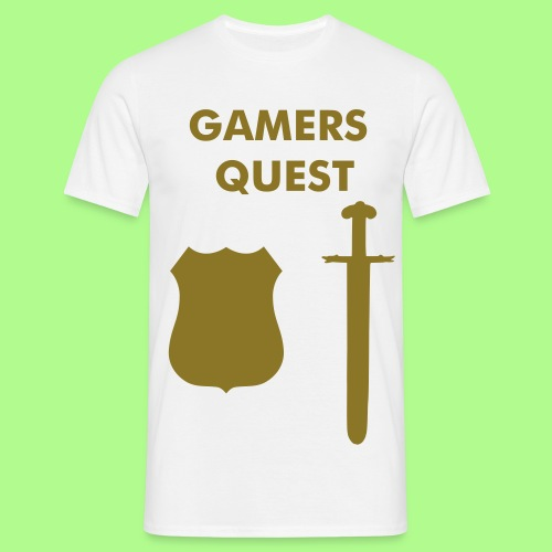 GAMERS QUEST T-SHIRT - Men's T-Shirt