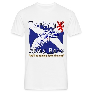 Tartan Army Boys Coming mens standard t-shirt - Men's T-Shirt