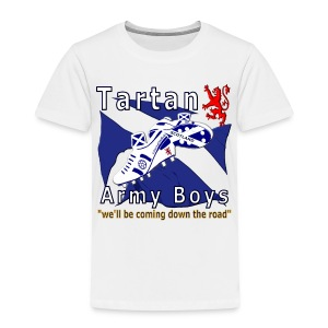 Tartan Army Boys Coming kid's t-shirt - Kids' Premium T-Shirt