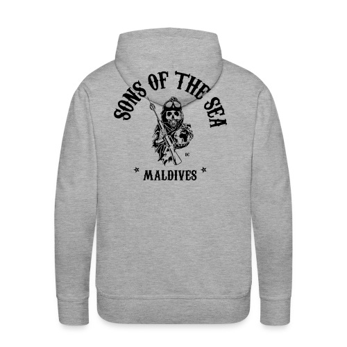men's Hoodie #2 - Sons of the Sea - MALDIVES - Men's Premium Hoodie