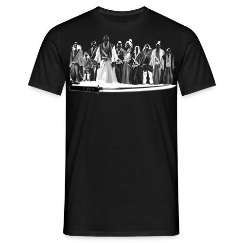 Gang samouraï - face t-shirt - T-shirt Homme