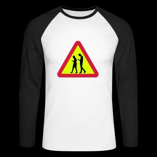 Smombies on the Way - Männer Baseballshirt langarm