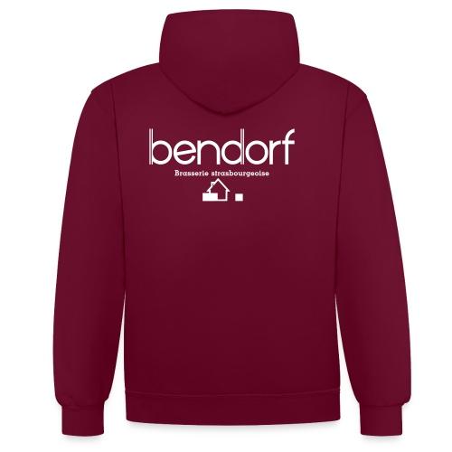 Sweat Premium Homme Bendorf - Sweat-shirt contraste