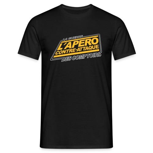 L'APERO CONTRE ATTAQUE tee shirts - T-shirt Homme