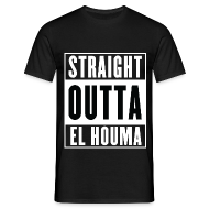 Tee shirts ~ Tee shirt Homme ~ Straight Outta El Houma