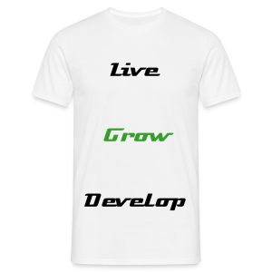 Dynamic- Live,Grow,Develop LP T-shirt - Men's T-Shirt