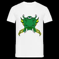 Tee shirts ~ Tee shirt Homme ~ Tête d'alien verte