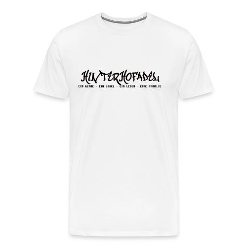 HINTERHOFADEL SHIRT - Männer Premium T-Shirt