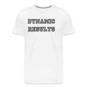 Dynamic T White - Men's Premium T-Shirt