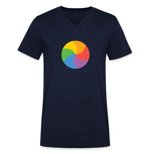 Beachball - Mannen bio T-shirt met V-hals van Stanley & Stella