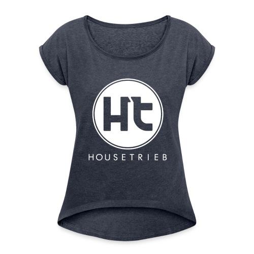Untoppable - Frauen T-Shirt mit gerollten Ärmeln