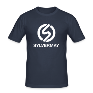T-shirt S by Sylvermay collection (Bleu marine/Navy) - Men's Slim Fit T-Shirt