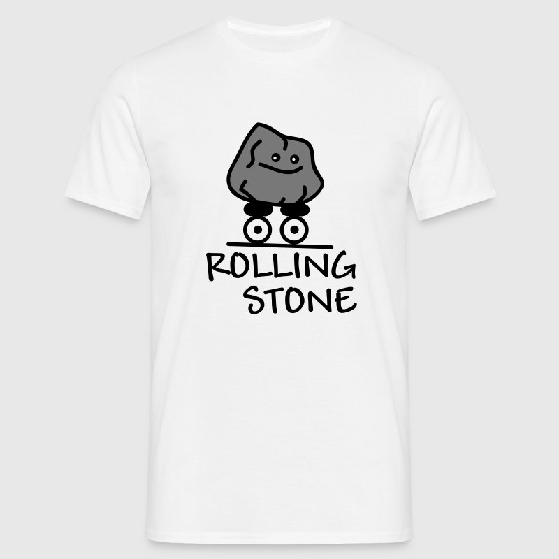 t shirt rolling stone spreadshirt. Black Bedroom Furniture Sets. Home Design Ideas