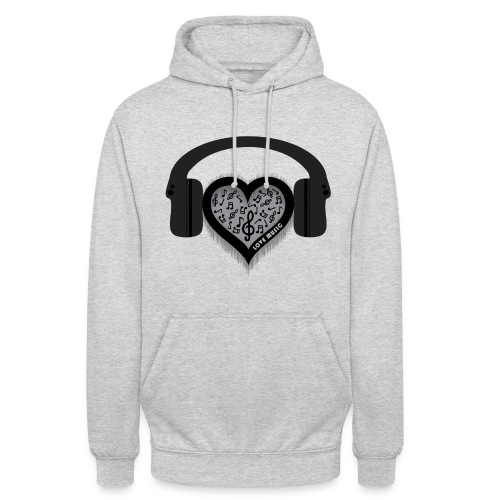 Love Music Hoodie - Unisex Hoodie