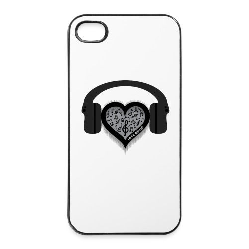 Love Music Phone Case - iPhone 4/4s Hard Case