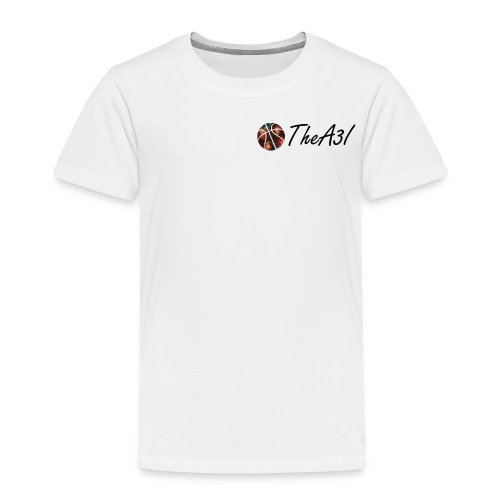 Casual A3I Basketball white t-shirt - Kids' Premium T-Shirt