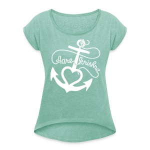 Aare Krishna Woman - Women's T-shirt with rolled up sleeves