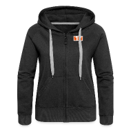 Pullover & Hoodies ~ Frauen Premium Kapuzenjacke ~ Artikelnummer 106651719