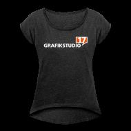 T-Shirts ~ Frauen T-Shirt mit gerollten Ärmeln ~ Artikelnummer 106651879
