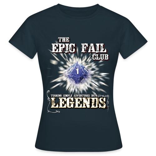 The Epic Fail Club - D10 - Women's T-Shirt