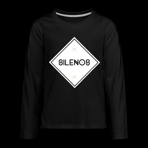 B&W Sweatshirt Silenos - Teenager Premium Langarmshirt