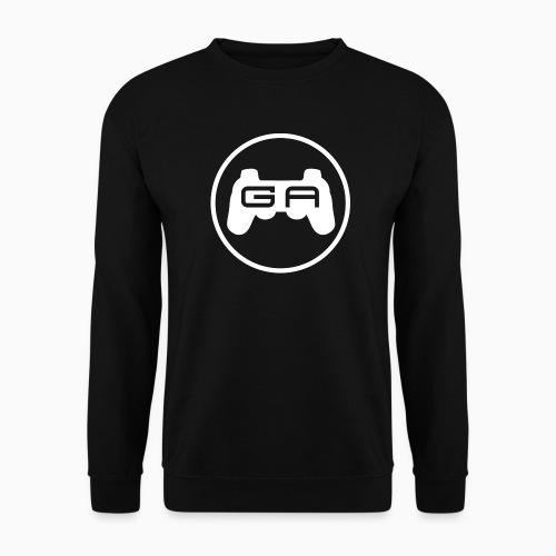 Herre Sweater med hvidt logo - Herre sweater