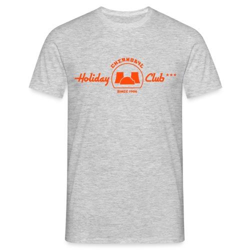 Chernobyl Holiday Club (ash / grau-meliertes CLASSIC-Shirt) - Männer T-Shirt