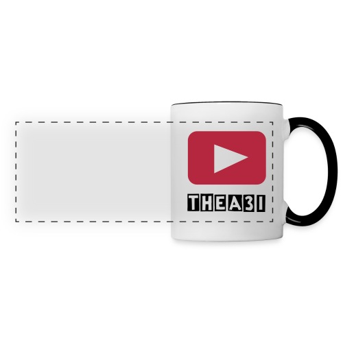 A3I White&Black YouTube mug - Panoramic Mug