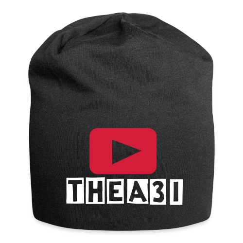 A3I Black YouTube Beanie - Jersey Beanie