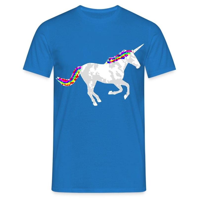 regenbogen einhorn rainbow unicorn psy crazy pixel t shirt. Black Bedroom Furniture Sets. Home Design Ideas