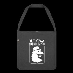 Malmö Impro NEW - Axelväska av återvinningsmaterial