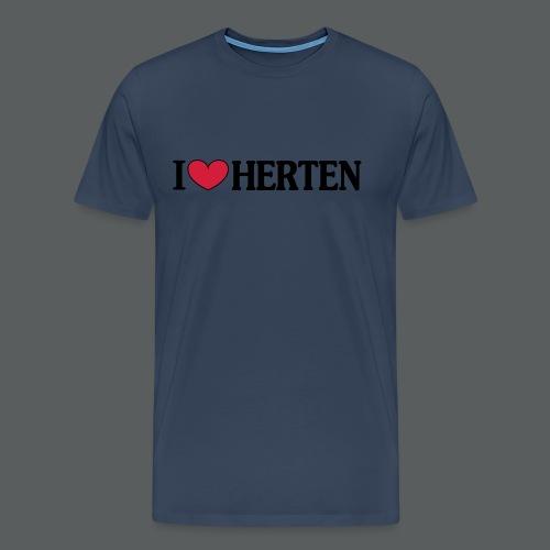 I Love Herten - Männer Premium T-Shirt