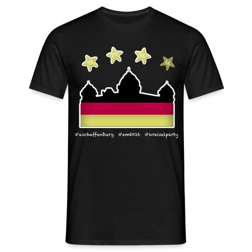 Fanshirt EM 2016 Aschaffenburg - Herren, T-Shirt, Rundhals,  - Männer T-Shirt