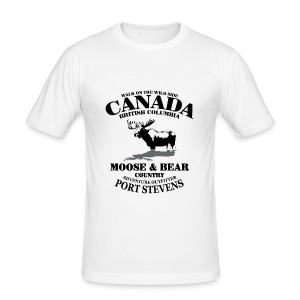 Moose - Canada Tee shirts - Tee shirt près du corps Homme