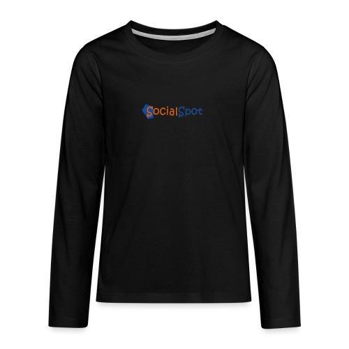 SocialSpot T-shirt - T-shirt manches longues Premium Ado