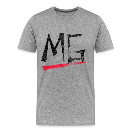 MG Glas black Logo Shirt - Männer Premium T-Shirt