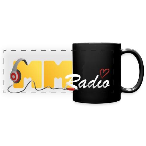 MM Radio krus - Sort - Panoramakrus, farvet