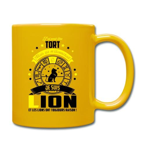 Mug Lion - Mug uni