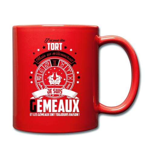 Mug Gémeaux - Mug uni