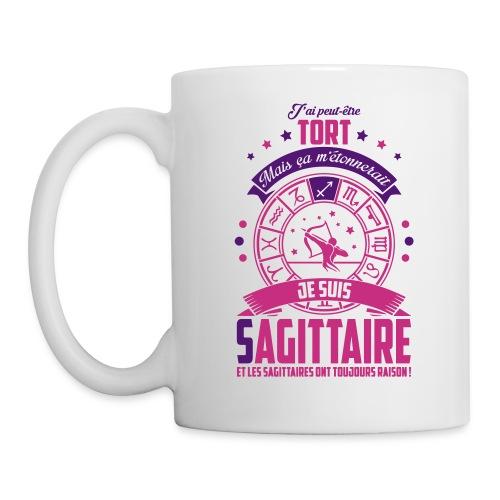 Mug BLANC sagitaire - Mug blanc