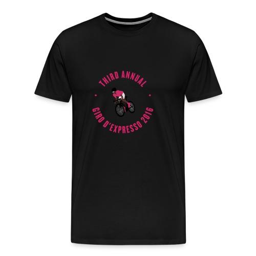 Giro d'Expresso 2016 (Premium) - Men's Premium T-Shirt