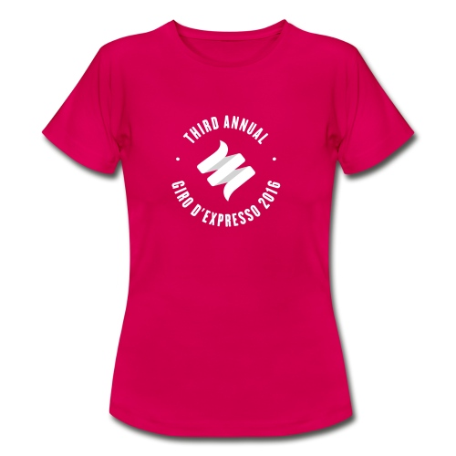 Giro d'Expresso 2016 - Women's T-Shirt