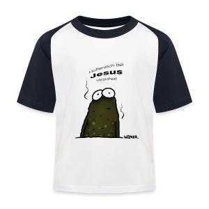 Lebensversicherung! - Kinder Baseball T-Shirt