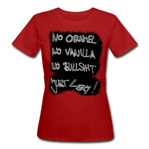 Just Lazy Girl - Frauen Bio-T-Shirt