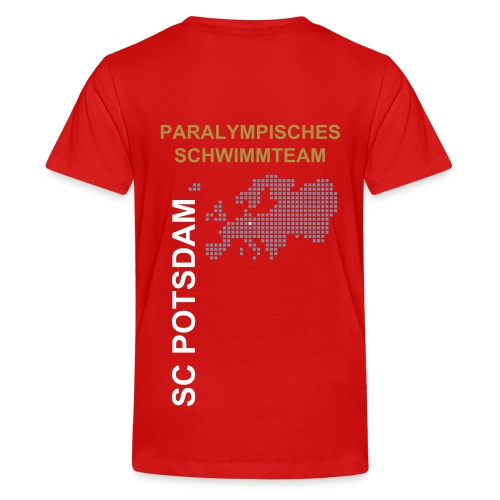 Teenager T-Shirt Paraswim SC Potsdam - Teenager Premium T-Shirt