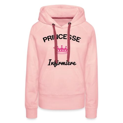 Sweat capuche Princesse - Team Nurse - Sweat-shirt à capuche Premium pour femmes